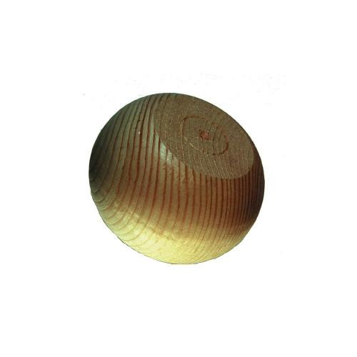 Bun Foot Edam Style Pine Diameter 90mm Height 60mm