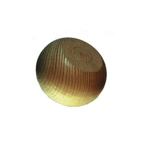 Bun Foot Edam Style Pine Diameter 90mm Height 60mm