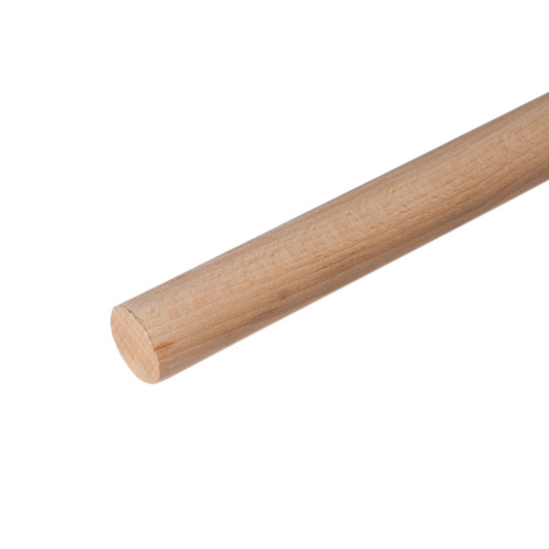 "Dowel Plain Beech Diameter 1/2"" Length 36"""