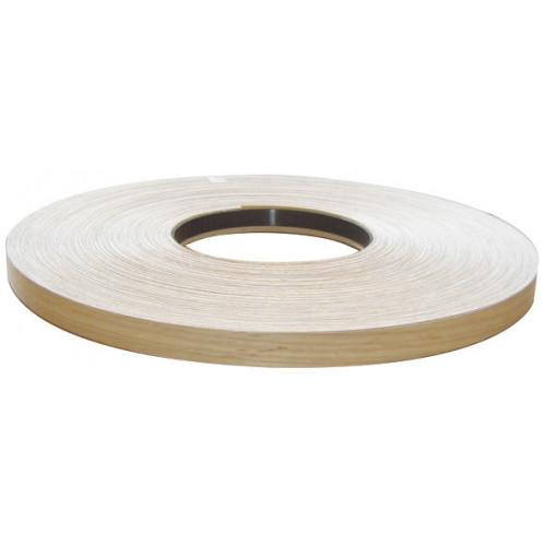 Iron-On Edging Tape Melamine Matt White 19mm × 100m