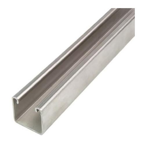 Channel Plain Galvanised 41 × 41 × 2.5mm × 3m