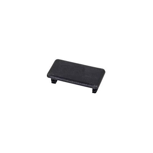 Channel End Cap PVC Black For 41 x 21mm Channel