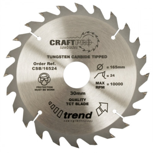 Alternate Bevel Saw Blade TCT 160mm Diameter × 48T × 20mm Bore