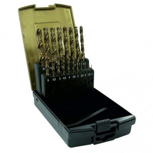 Drill Bit Set HSS Cobalt Jobber 25pc