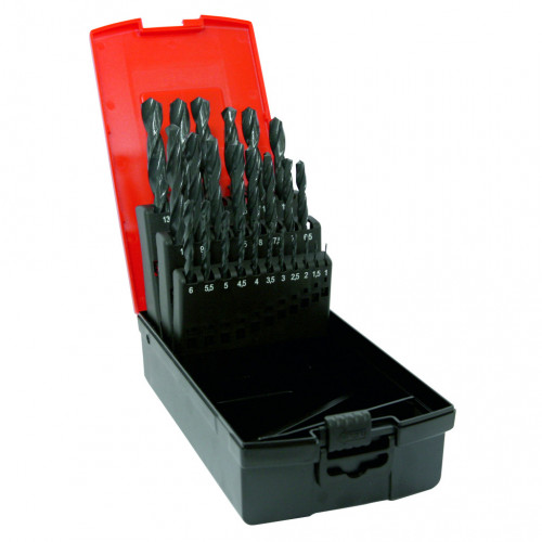 Drill Bit Set HSS Rolled Jobber 25pc