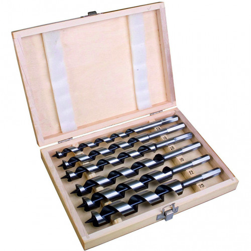 Wood Auger Bit Set 6pc 230mm