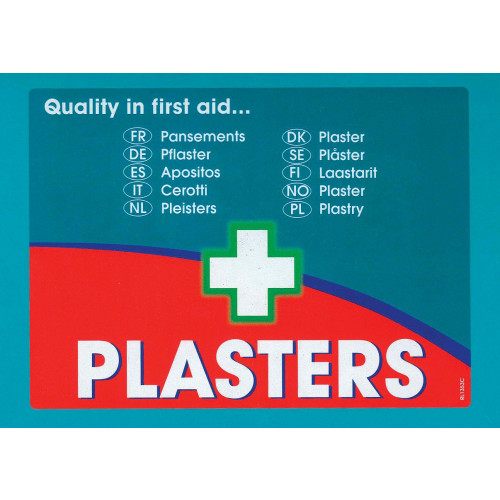 Assorted Fabric Plasters 100pk
