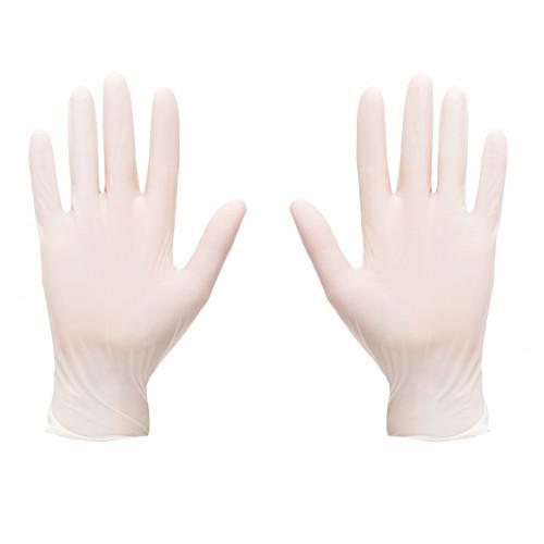 Latex Gloves Disposable Medium 100pk
