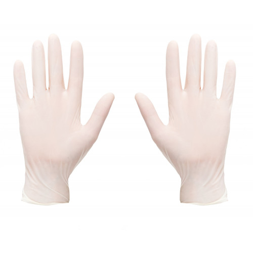 Latex Gloves Disposable Medium 100pk