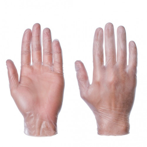Vinyl Gloves Disposable Medium 100pk