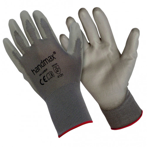 Nitrile Close Fit Coated Palm Gloves Extra Large Size 10