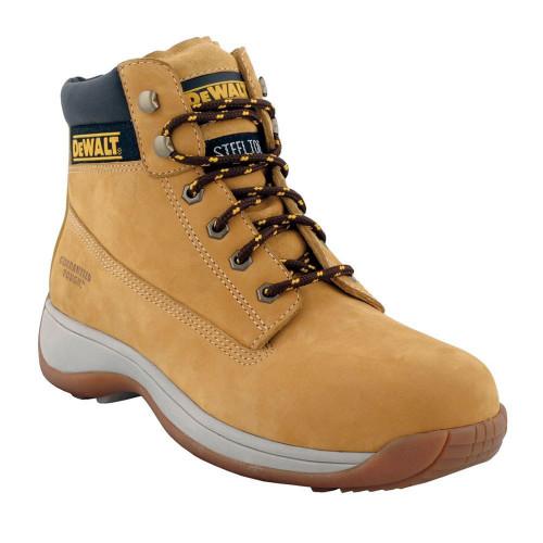 Dewalt Apprentice Safety Boots Nubuck Size 10