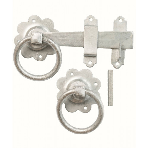 Ring Gate Latch Galvinised 150mm Latch Length