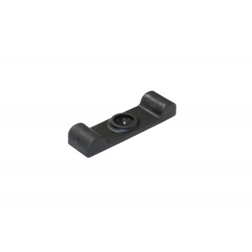 Turnbutton Plastic Black 40mm