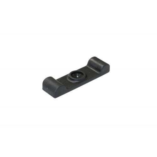 Turnbutton Plastic Black 40mm