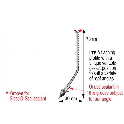 Capex LTF Profile White  3.0m