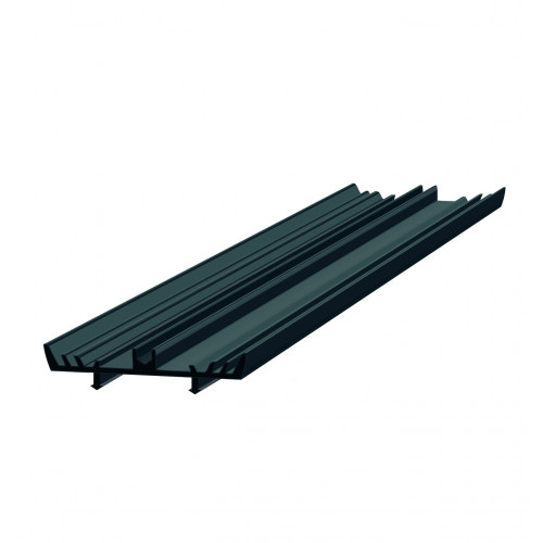 Rafter Gasket Capex Twin Groove Located 55mm Wide Black  10m