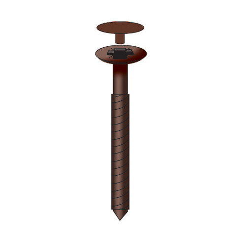 Capex Stainless Steel Screws Brown  70mm