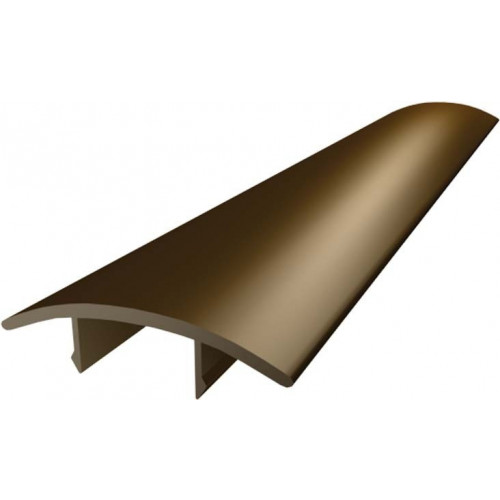 Cresfinex Ridge Bar Snap Cover  Brown  3m