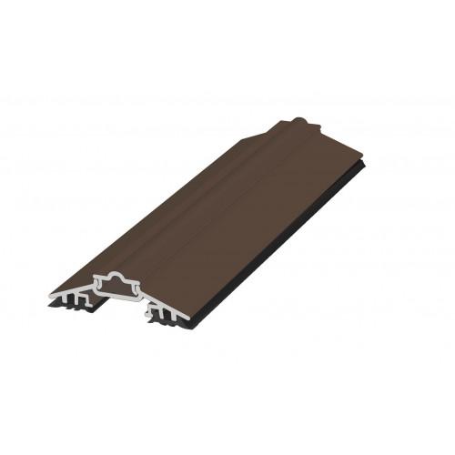 Capex 50 Glazing Bar  White  2.4m