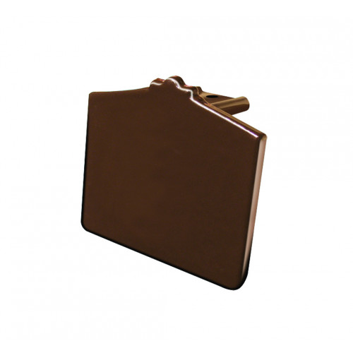 Capex 70/Hip Extended End Cap  Brown