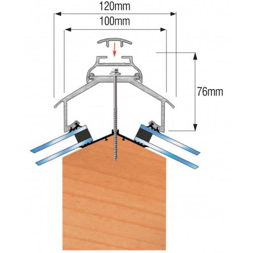 Cresfinex Ridge Bar MK4  Mill  4.8m