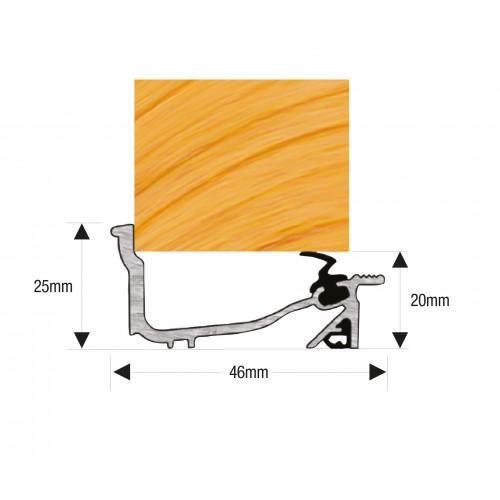 Lowline Macclex Sill 914mm Mill Aluminium