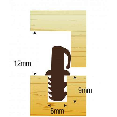 Threshold Sealing Bar 914mm Brown