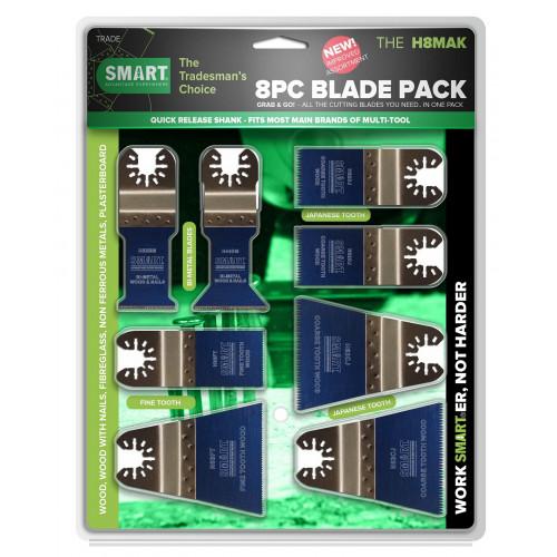 Smart Green Series 8 Piece Blade Kit