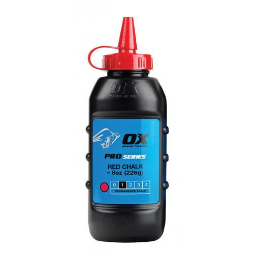 Ox Pro Chalk Powder Red 226G