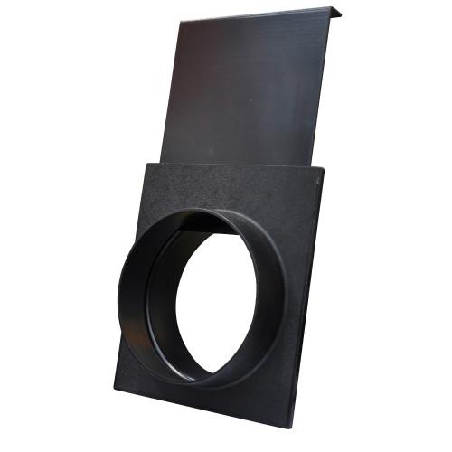 100mm Air Flow Control Gate, Plastic