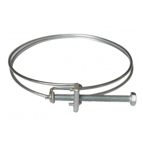 100mm hose securing clip