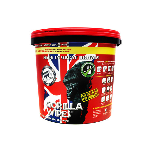Gorilla Wipes 250pk