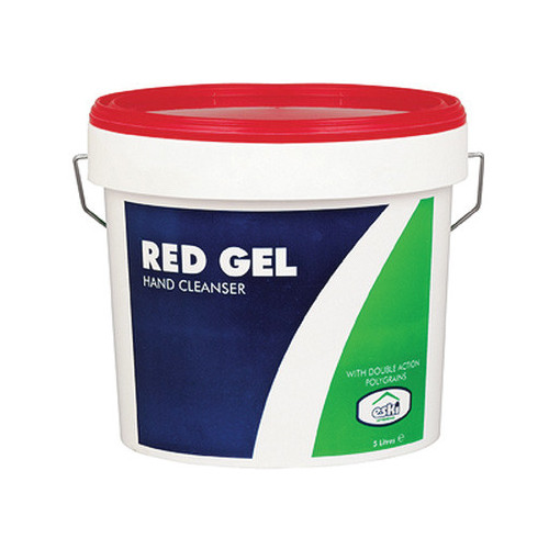 Hand Cleaner Red Gel 600ml