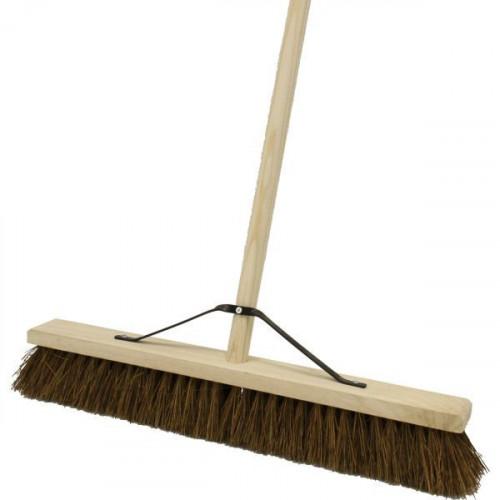 610mm Natural Bassine Broom Brush