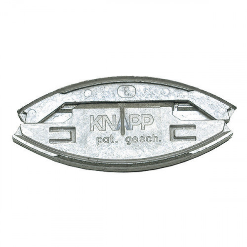 Knapp Silver (50 prs/box)