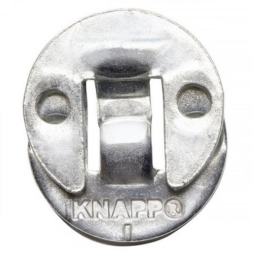 Knapp Duo 30ol hook connectors, zinc plated steel (25pr/bx)