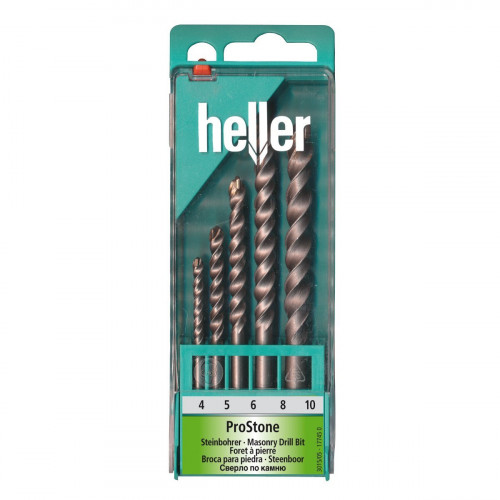 Masonry Drill Bit Set 5pc