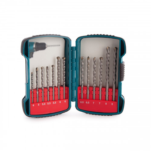 Masonry Drill Bit Set 13pc