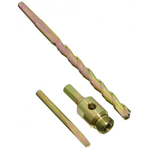Core Drill Hex Adaptor Pack With Guide Rod And Drift
