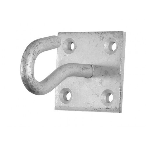 Hook On Plate Galvanised 50 × 50mm