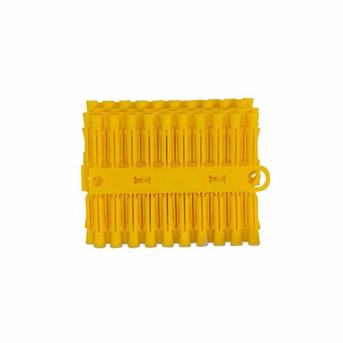 Wall Plugs Plastic Yellow