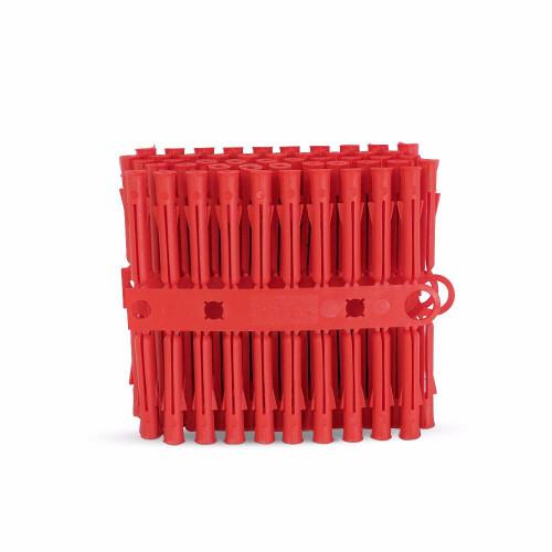 TalonWall Plugs Plastic Red