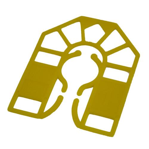 Small Batten Packers 55 × 43 × 1mm Yellow
