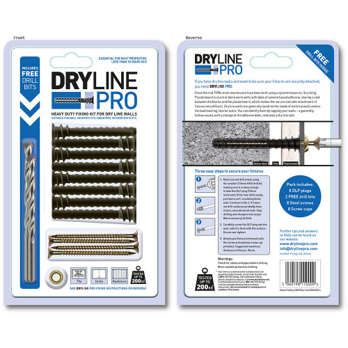 DrylinePro Fixing 8pk