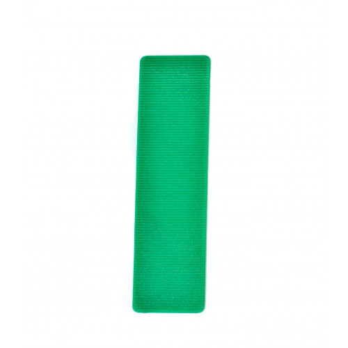 Glazing Packers Plastic 100 × 24 × 1mm Green
