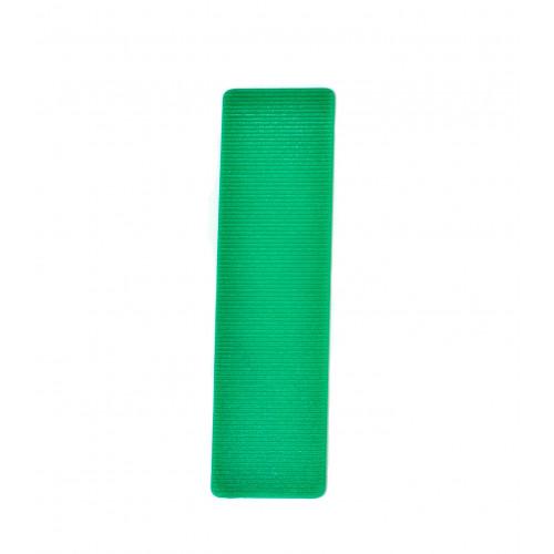 Glazing Packers Plastic 100 × 24 × 1mm Green