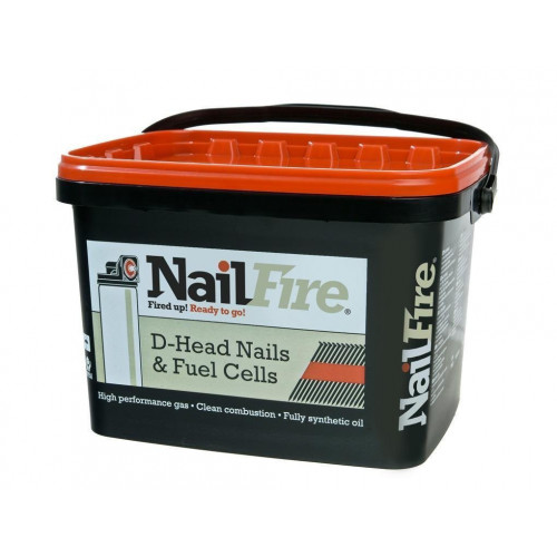 Nailfire Angle Brad Nails With Gas  32mm  2000pk