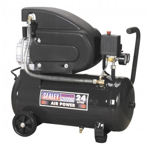 Air Compressor Wheeled 2Hp 24L Tank 240V