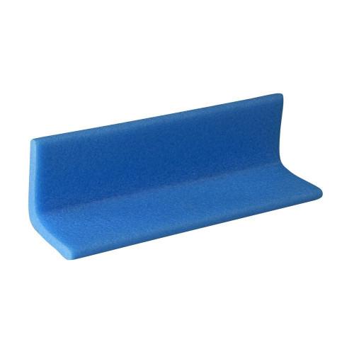 Foam Edge Protection Blue Blue 75 x 75mm 2m
